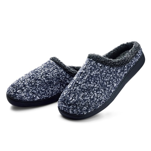 dba42e692d67 Dasein Men s Soft Lined Suede House Slippers
